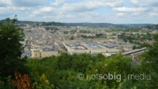 View from Beechen Cliff, Bath