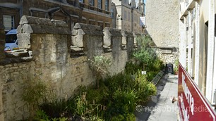 Old Town Walls, Bath