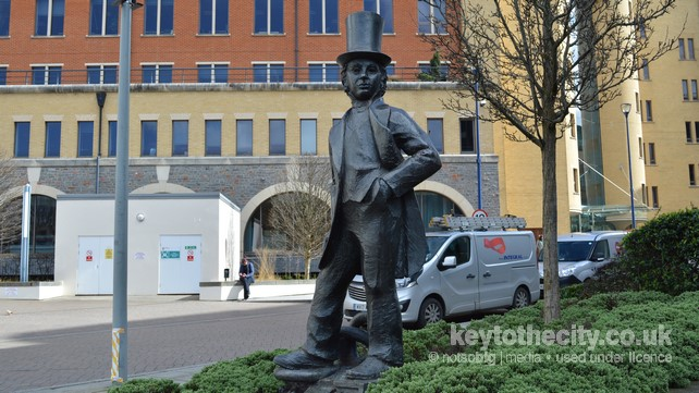 Statue of Isambard Kingdom Brunel