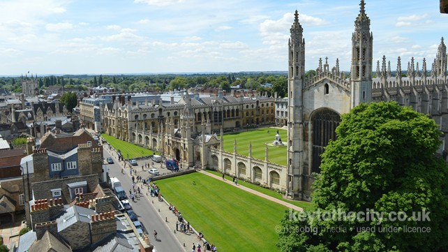 King's College and Chapel, Cambridge