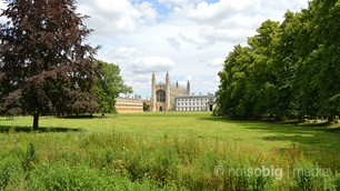 King's College from The Backs, Cambridge