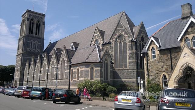 Church Street Cardiff st Peter's rc Church Cardiff