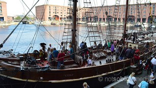 Pirates on the Dock, Liverpool
