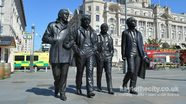 The Beatles, Liverpool Waterfront