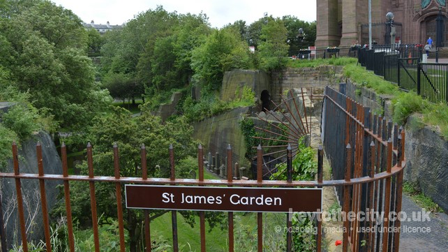 St James Gardens, St James\' Mount, Upper Duke Street, Liverpool ...