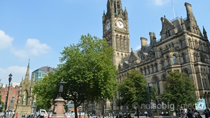 Manchester Town Hall and Albert Square